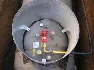 газгольдер устройство