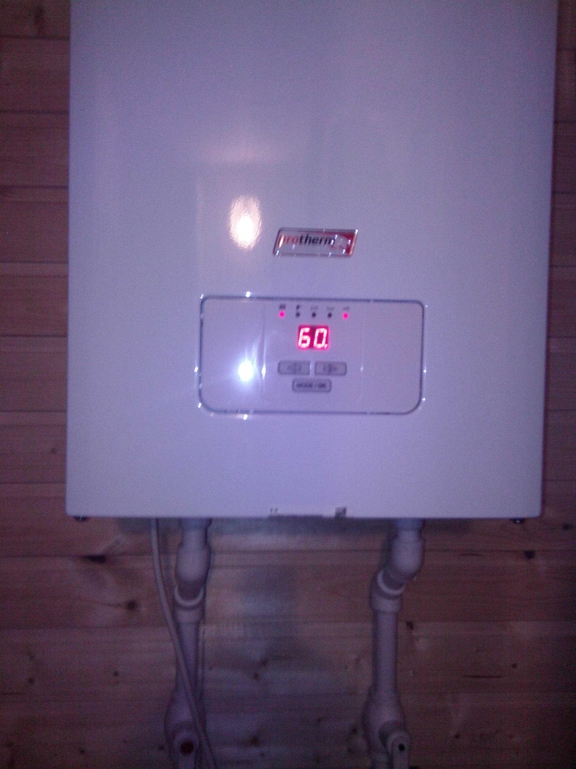Отопление с электро котлом скат
