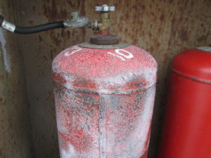 Обмерзание газового балона