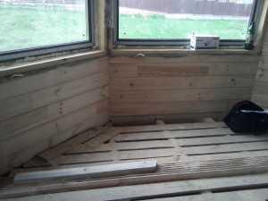 деревяный пол под отопления