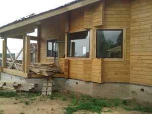 дом из бруса отопление
