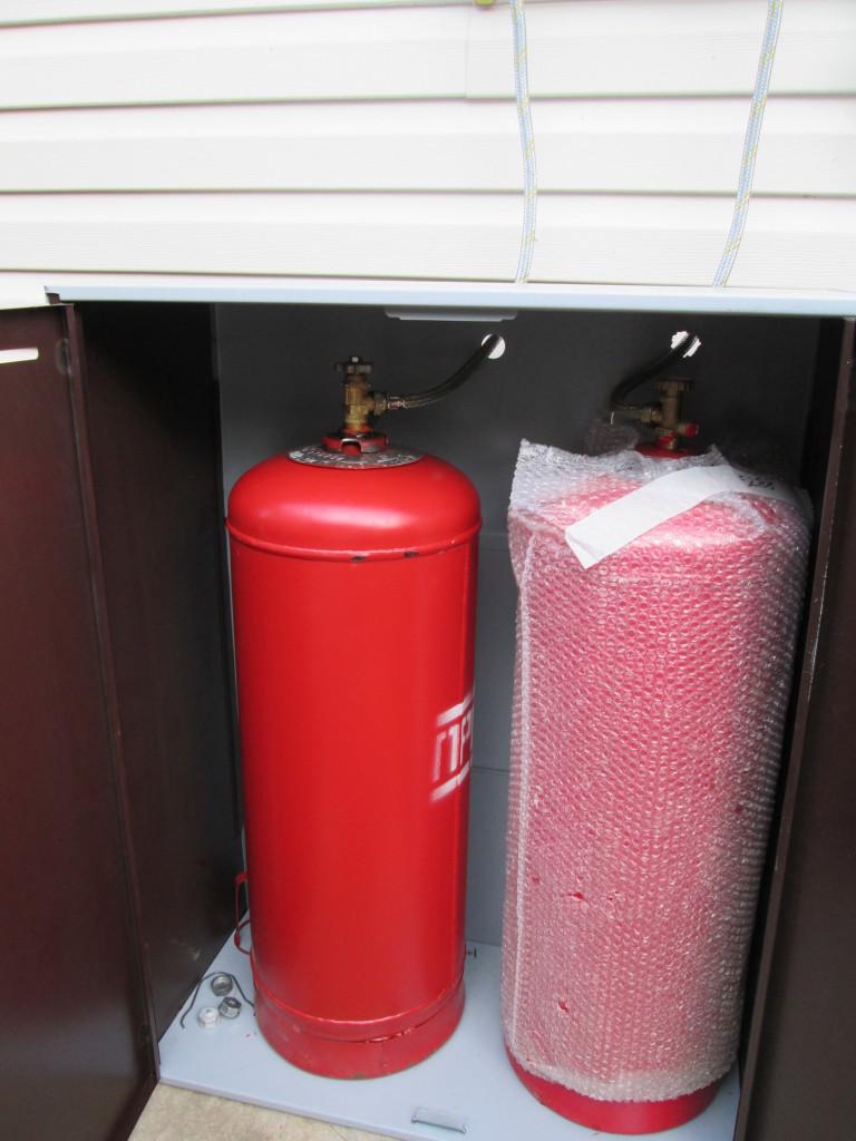 отопление баллонным газом