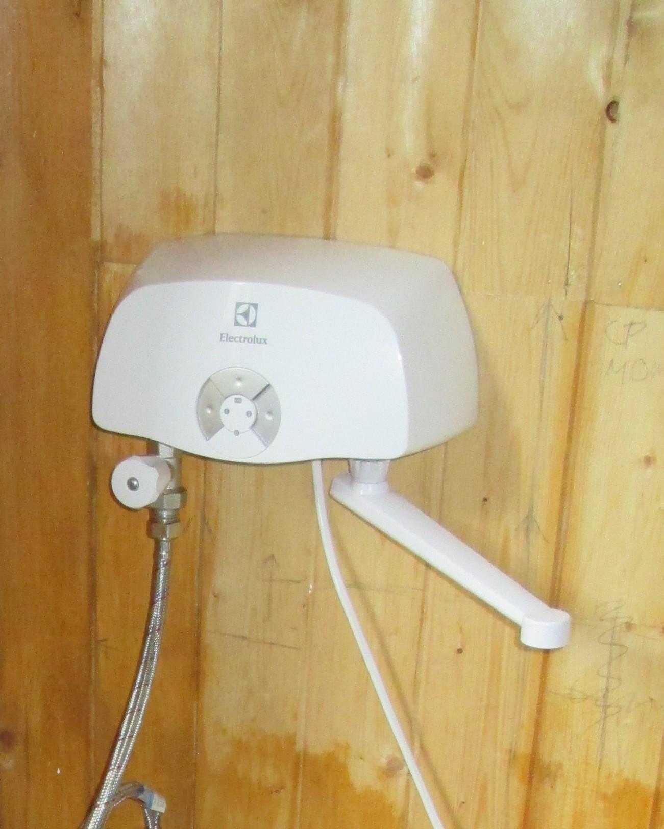 Проточные водонагреватели электрические как сделать 232