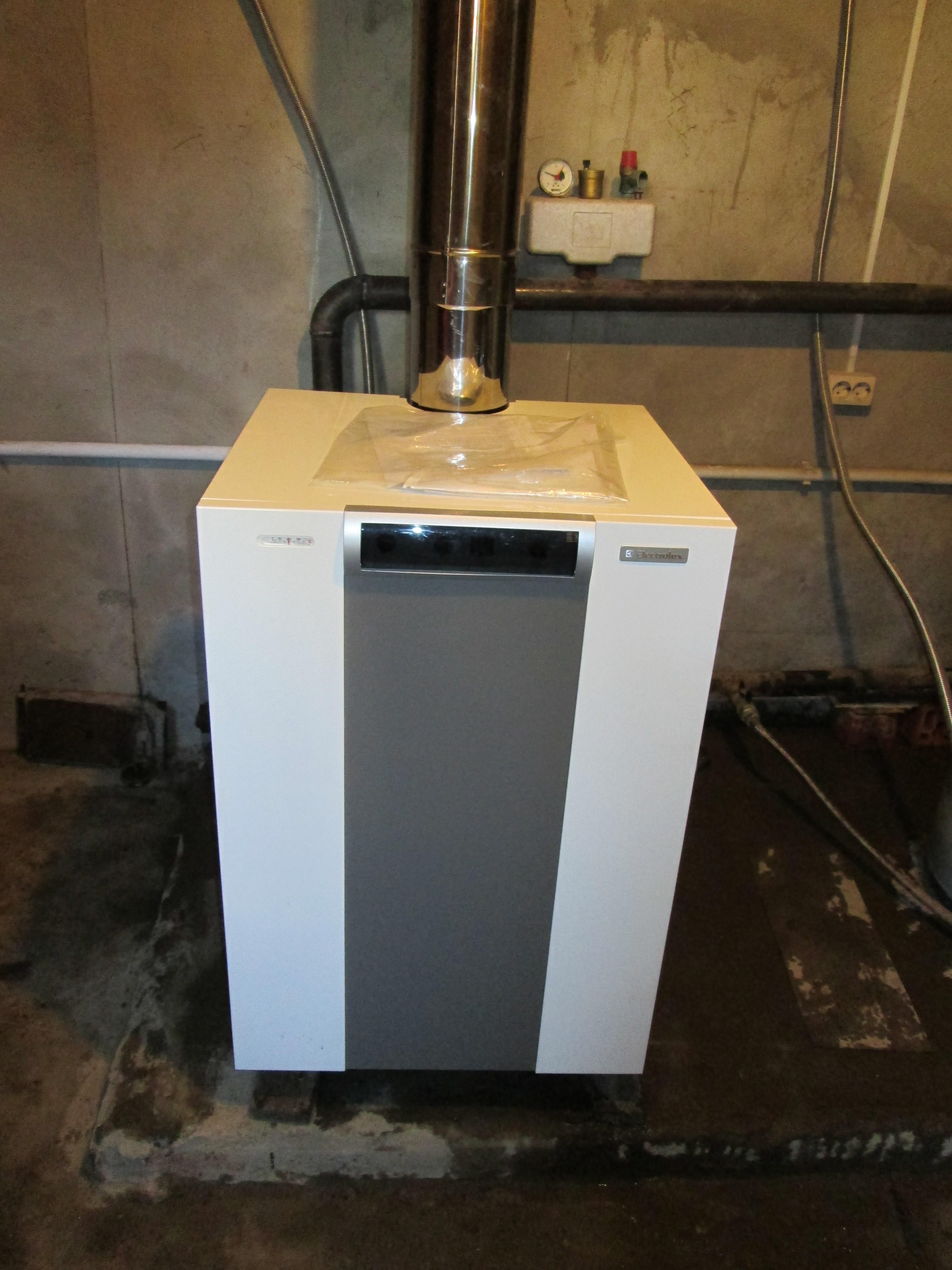 Способы установки котлов отопления