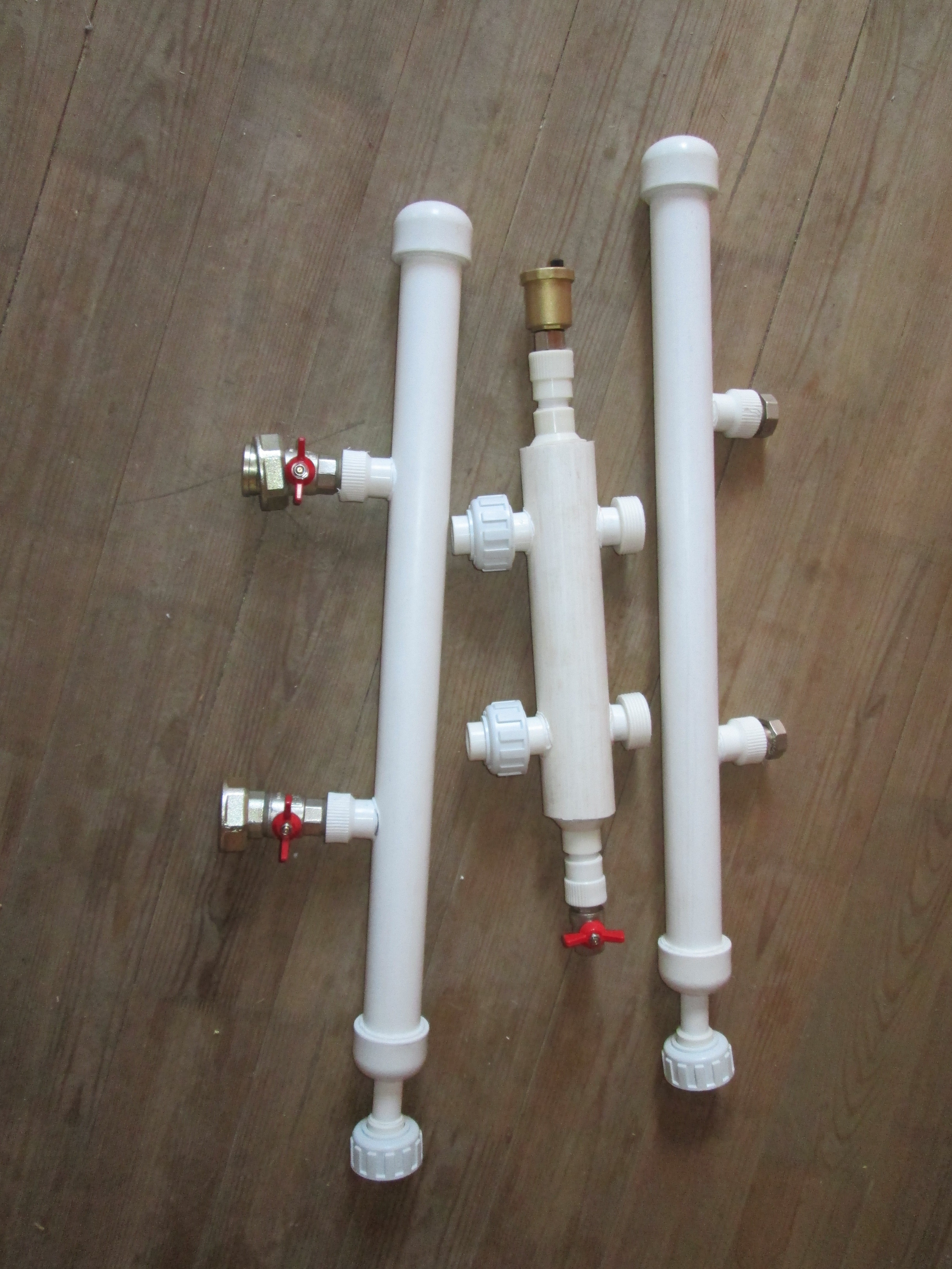 Гидрострелка своими руками из полипропилена фото
