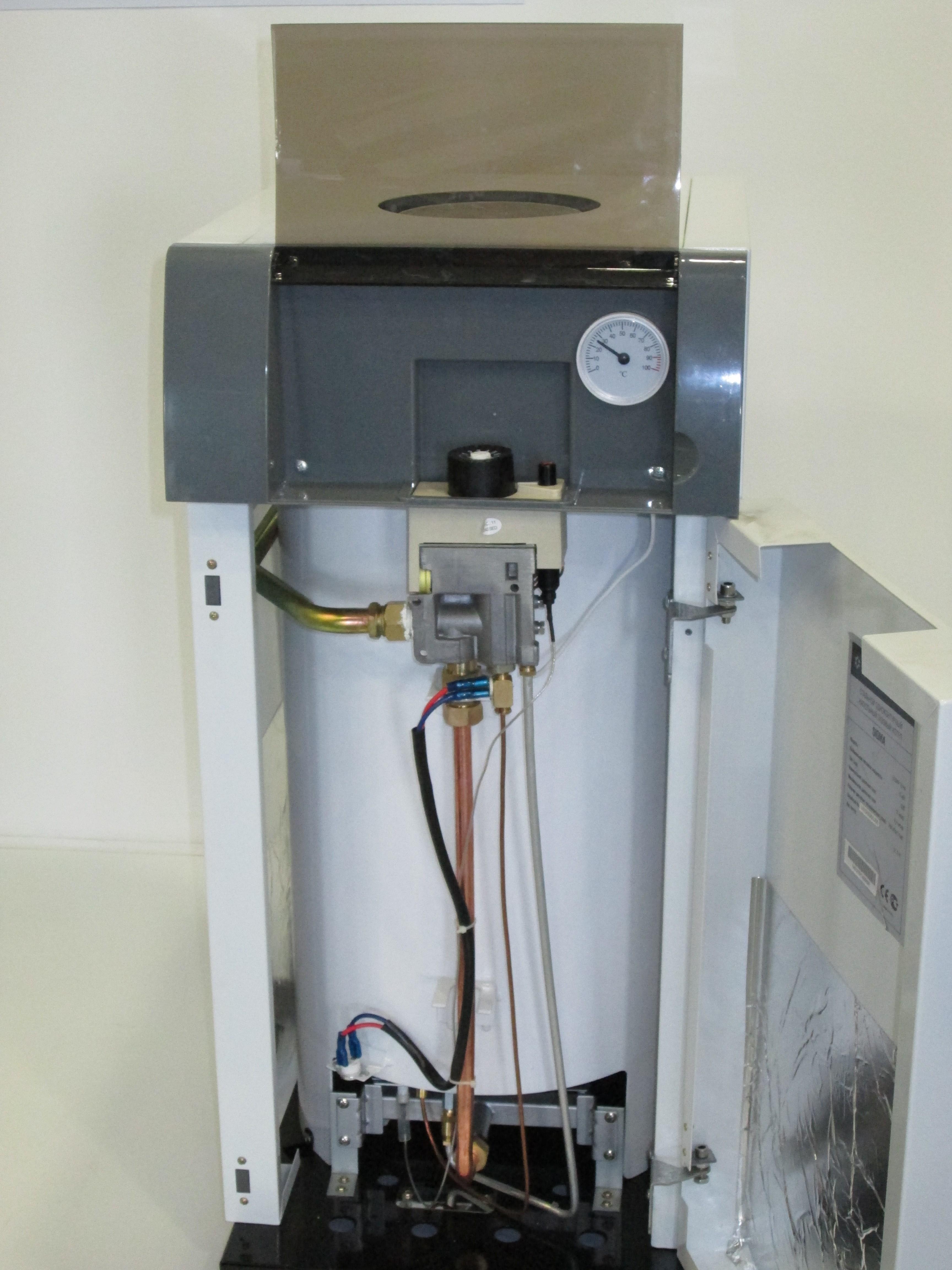 SIGMA Kentatsu Furst -маломощные газовые котлы.