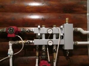 обьвязка-котельной гидрострелкой