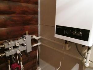 Отопления дачи газовым котлом