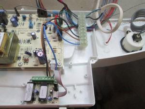 Вывод сигнала аварии от котла Бакси Луна на GSM модем ZONT H1