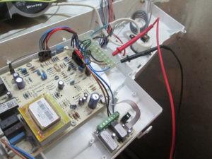 Подключение сигнала аварии от котла Бакси Луна на GSM модем ZONT H1