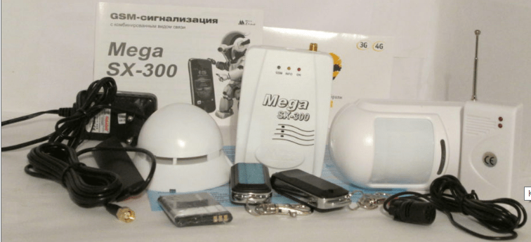 GSM-сигнализация Mega SX-300