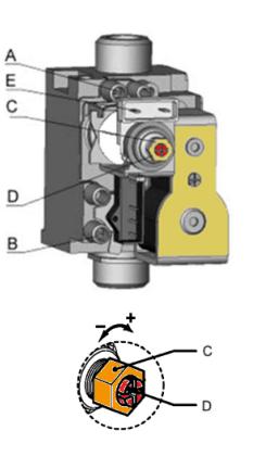 Настройка газового клапана SIGMA