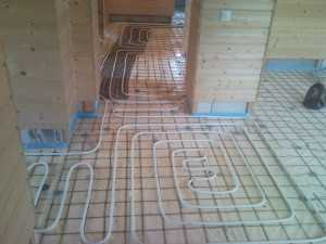 теплый пол из металопластика