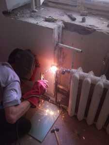 перенос приборов отопления