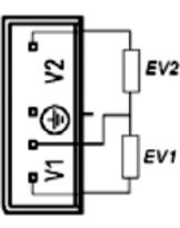 Сопротивление обмоток газового клапана SIT