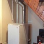 Система водяного отопления с естественной циркуляцией теплоносителя