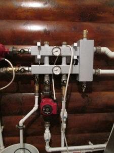 колекторная система отопления