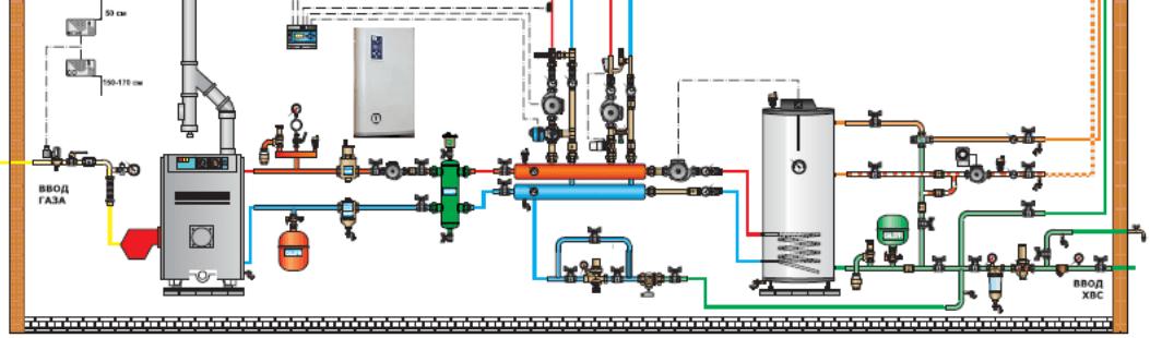 килекторная система отопления