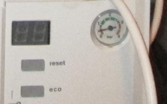 манометр системы отопления Bosch