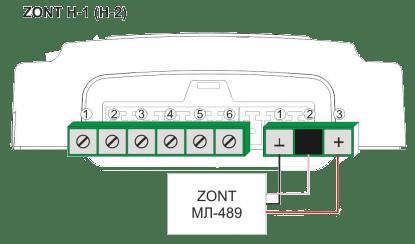 Схемы подключенияМЛ-489