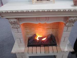 отопление камином