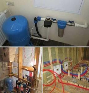фото водоснабжения дома